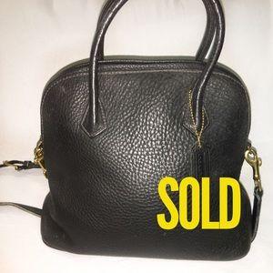 SOLD! COACH SONOMA Vintage Leather Dome Satchel